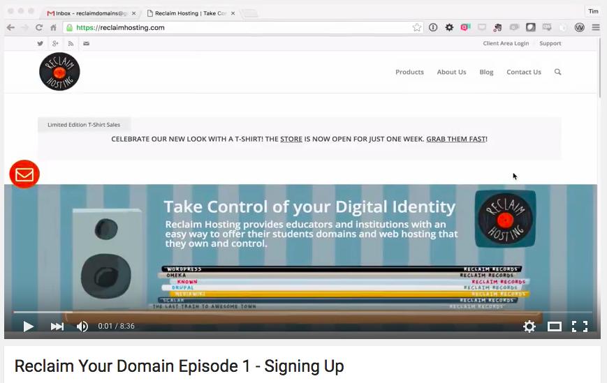 Reclaim your Domain   Episodes 1 & 2