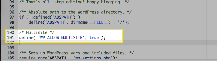 Converting a Single WP Instance into a WP Multisite