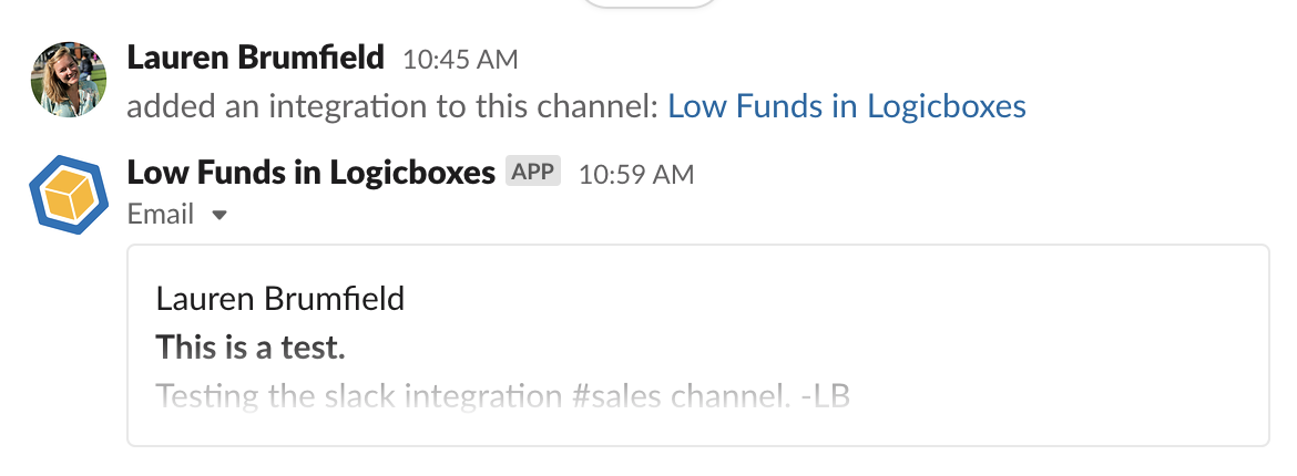 Filtering Alias Email Notifications into Slack